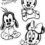 Disney Cartoon Toddlers Baby Coloringpage