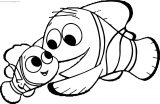Disney Finding Nemo Father Love Coloring Pages