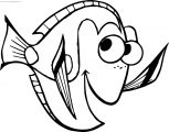 Disney Finding Nemo Hi Coloring Pages