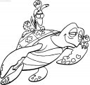 Disney Finding Nemo Love Child Coloring Pages