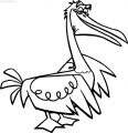 Disney Finding Nemo Stork Coloring Pages