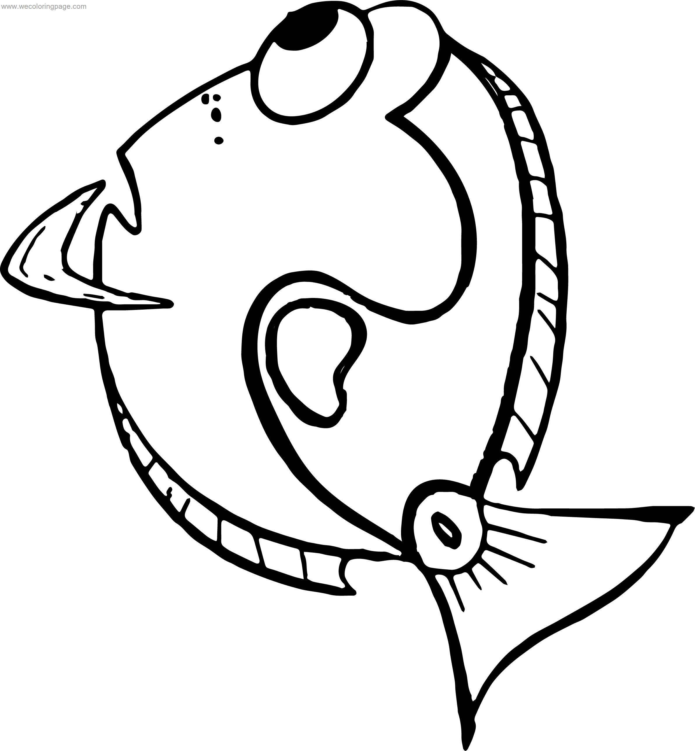 Disney Finding Nemo Thinking Coloring Pages