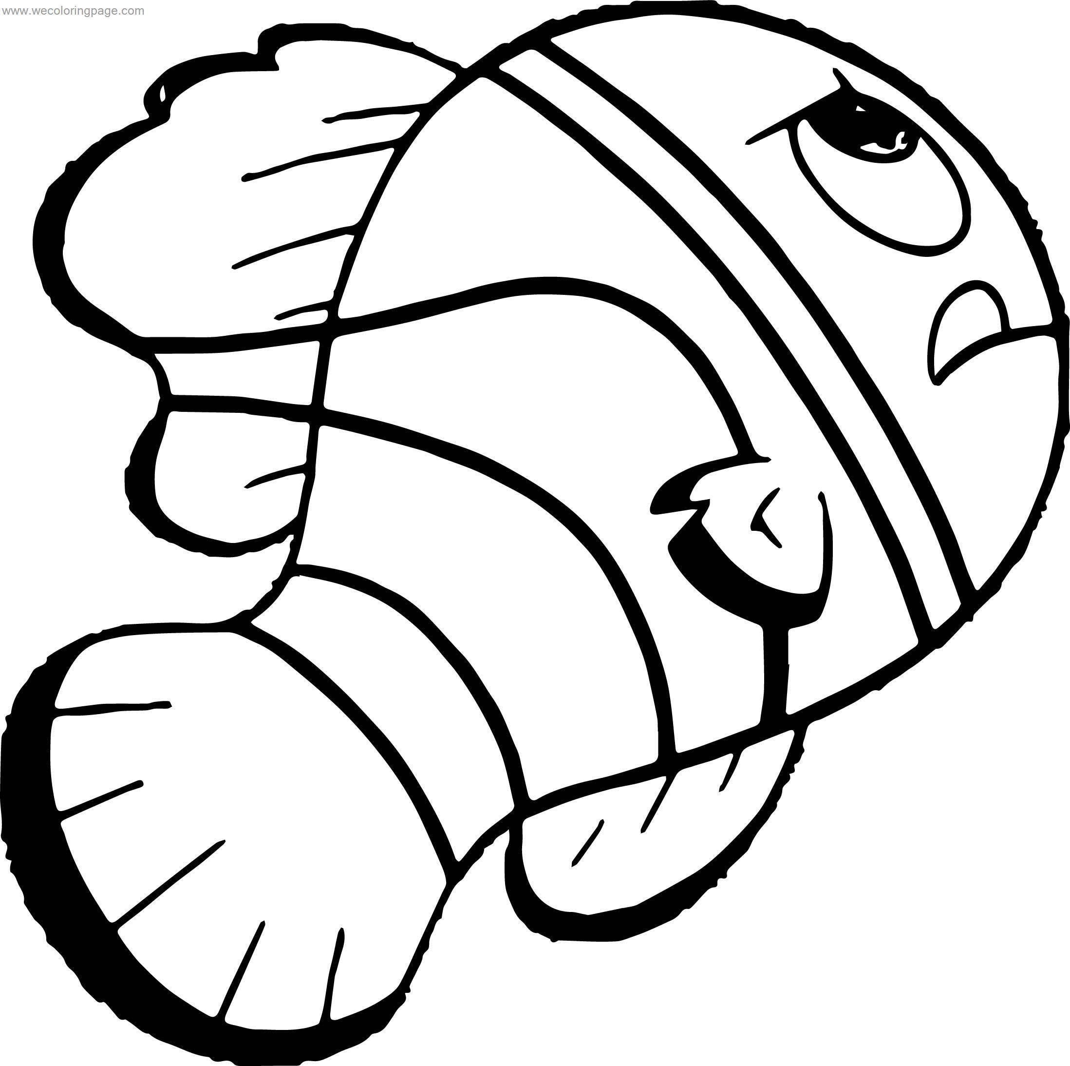 Disney Finding Nemo Work Coloring Pages