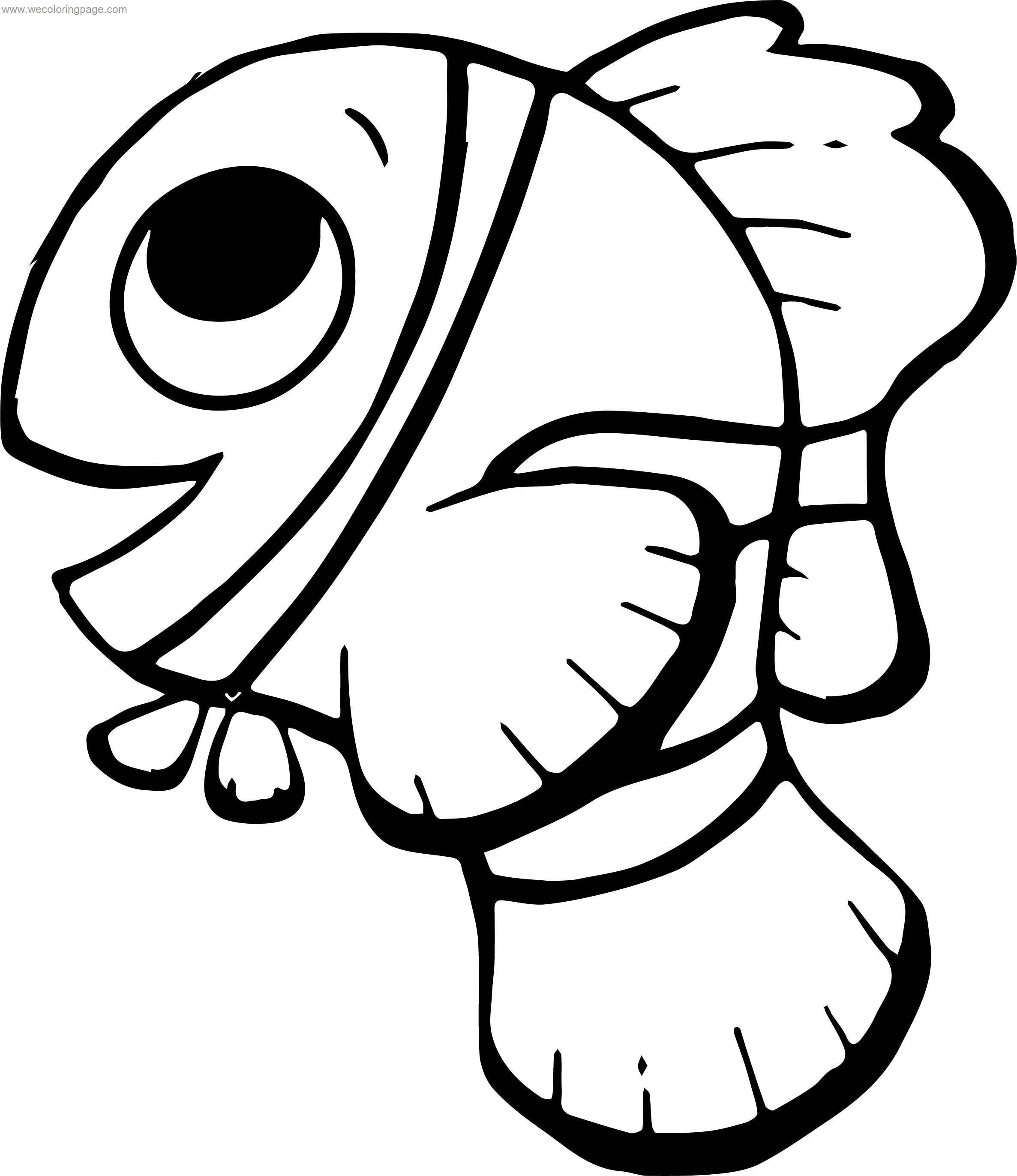 Disney Finding Nemonemo Side View Coloring Pages