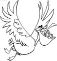 Disney Finding Nemonigel Fly Coloring Pages