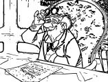 Disney The Aristocats Coloring Page 076