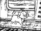 Disney The Aristocats Coloring Page 083