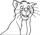 Disney The Aristocats Coloring Page 105