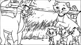 Disney The Aristocats Coloring Page 124