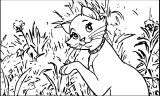 Disney The Aristocats Coloring Page 149