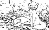 Disney The Aristocats Coloring Page 150