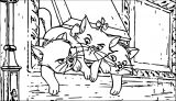Disney The Aristocats Coloring Page 151