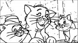 Disney The Aristocats Coloring Page 170