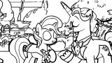 Disney The Aristocats Coloring Page 194