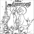 Disney The Aristocats Coloring Page 196