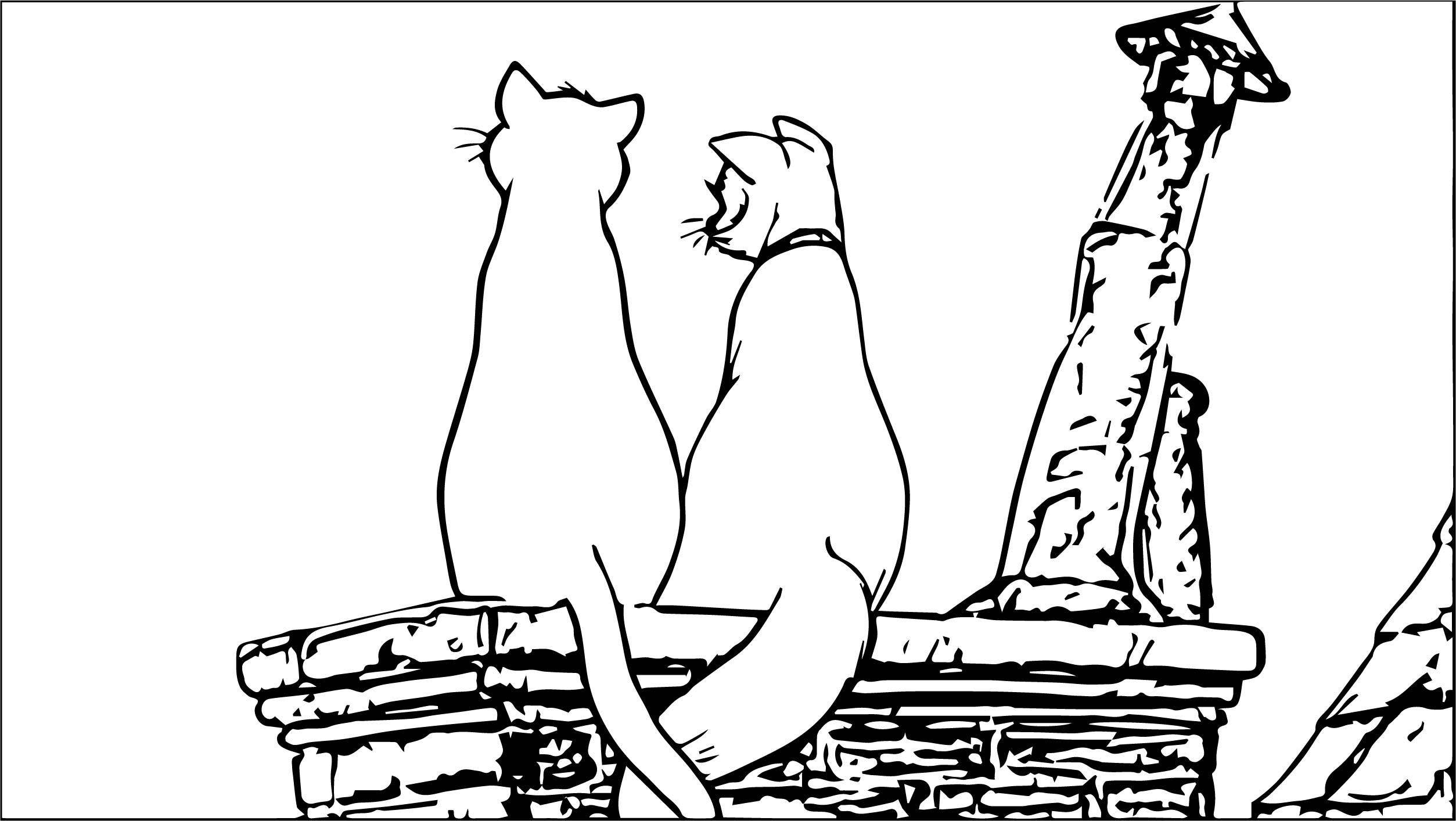 Disney The Aristocats Coloring Page 205