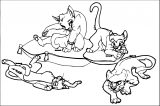 Disney The Aristocats Coloring Page 227