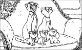 Disney The Aristocats Coloring Page 229