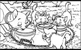 Disney The Aristocats Coloring Page 238