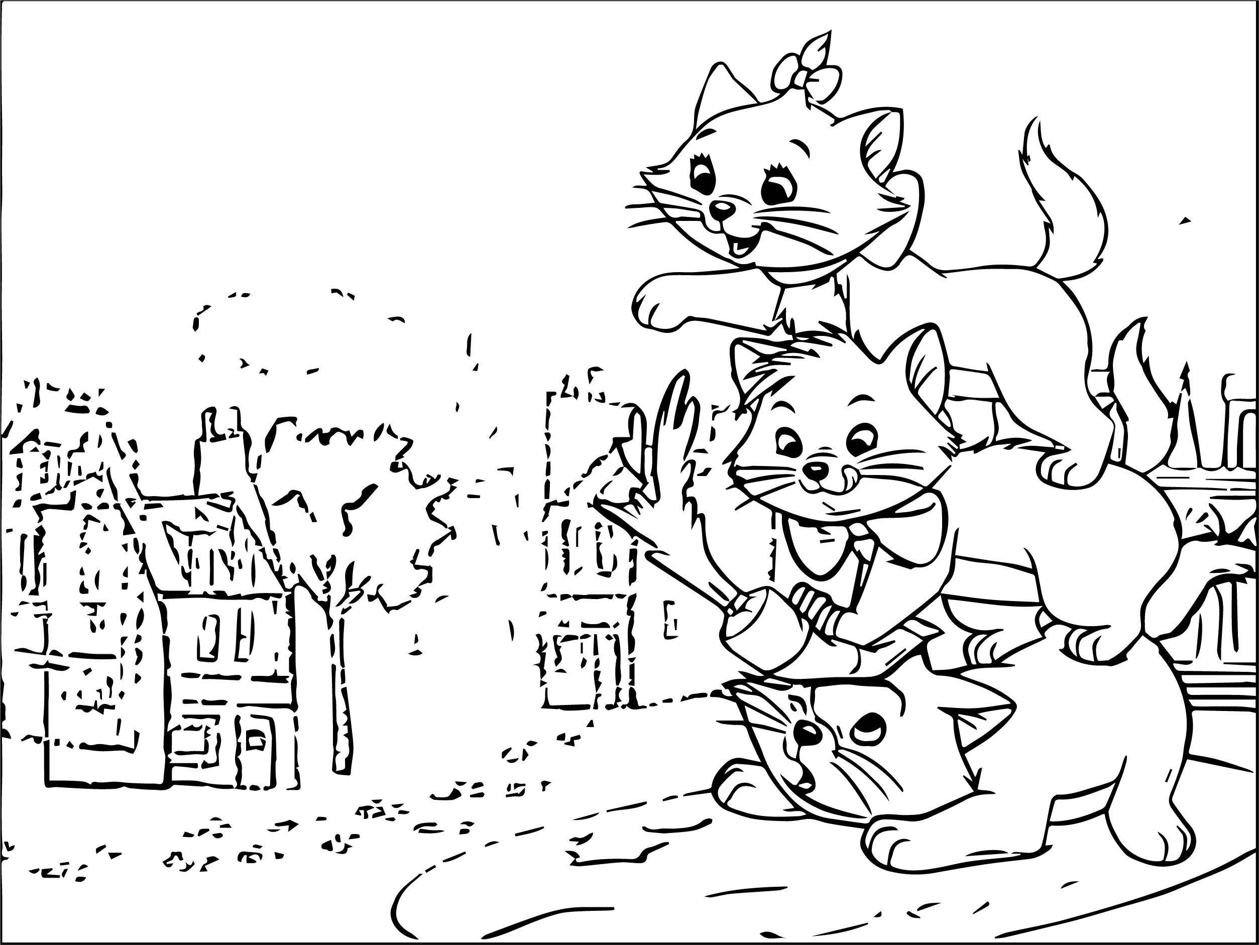 Disney The Aristocats Coloring Page 275