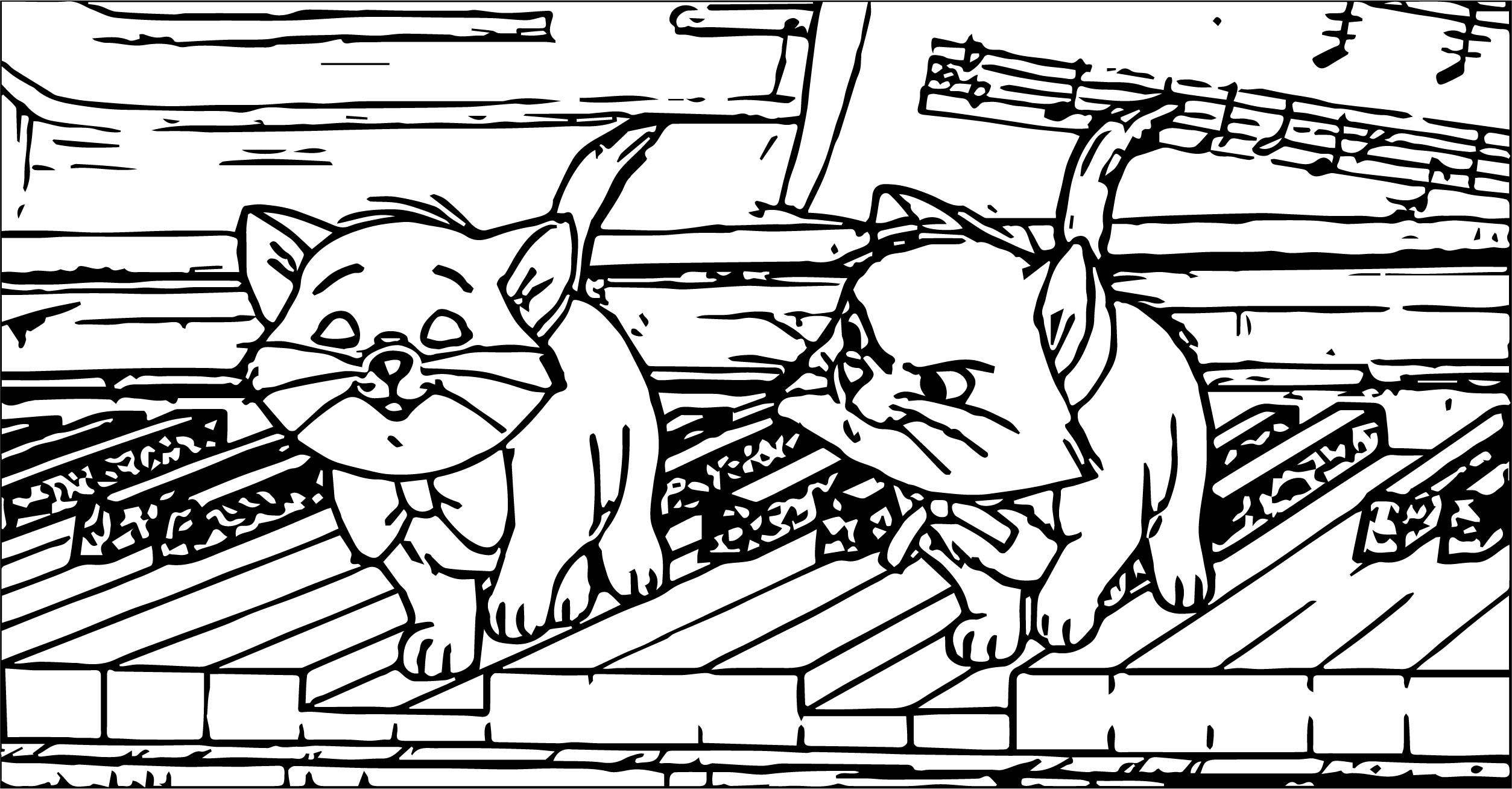 Disney The Aristocats Coloring Page 284