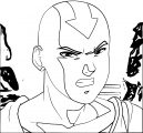 Dragon Ball Tla Son Aang Sractheninja Avatar Aang Coloring Page