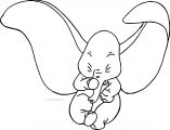 Dumbo Sneeze Coloring Pages