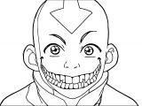 Evil Aang Rasumuz Dqx Avatar Aang Coloring Page