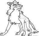 Frisky Balto Wolf Coloring Page