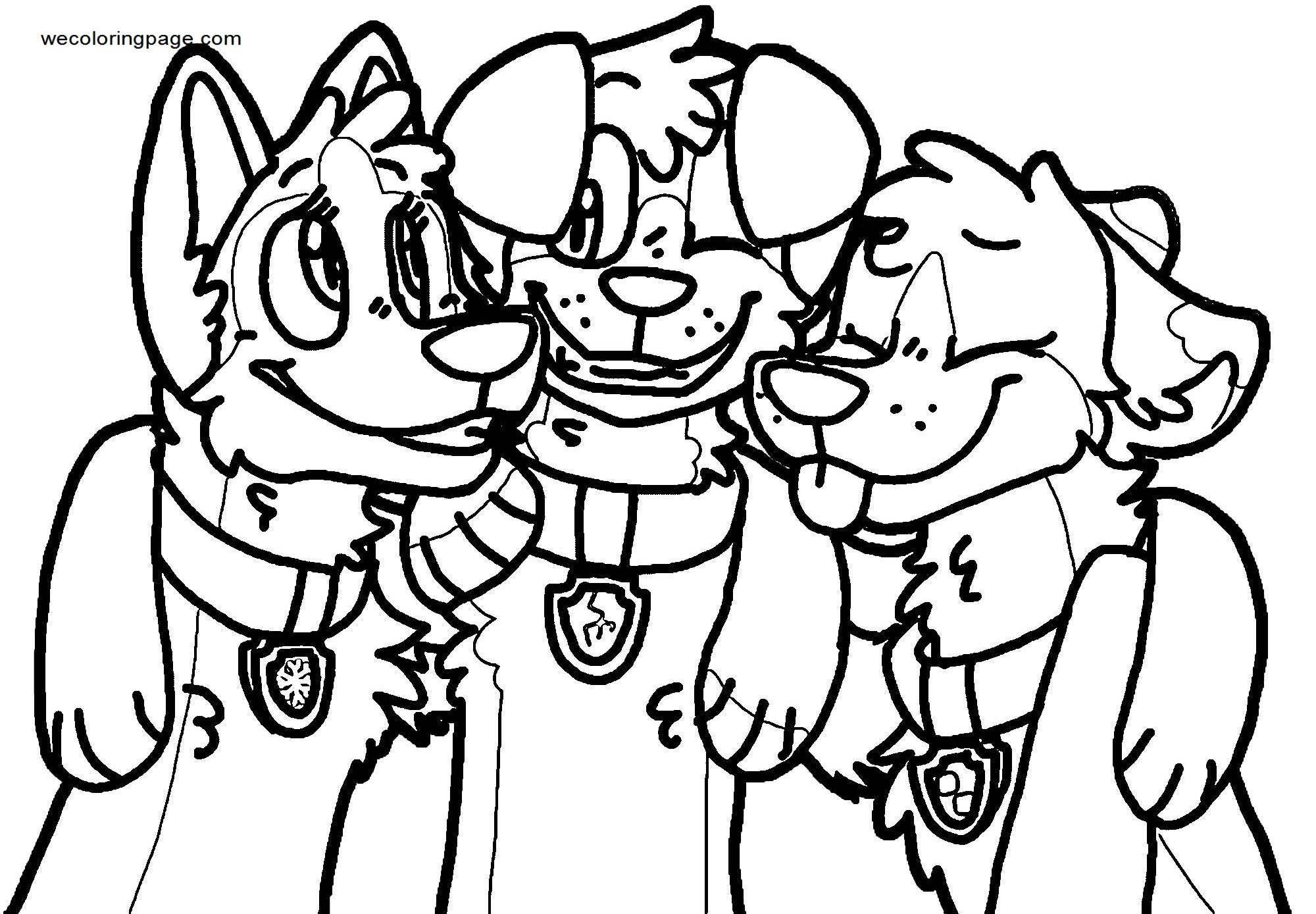 Happy Belated Birthday Cooper Axel Pup Coloring Page