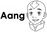 How To Draw Ang Avatar Aang Coloring Page