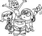 Inside Out 2 Coloring Pages
