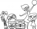 Inside Out Coloring Pages 2