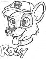 It S Rocky Silversimba Dxf Coloring Page