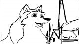Jenna Jenna From Balto Village Wolf Coloring Page