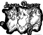 Jenna Wolf Id Balto Source Wolf Coloring Page