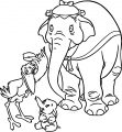 Jumbo Dumbo Stork Coloring Pages