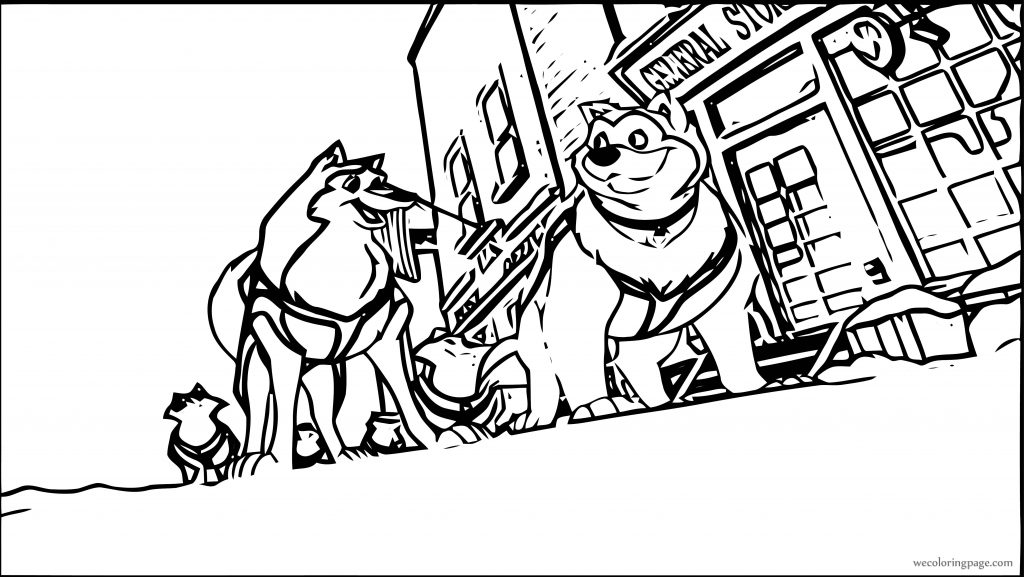 Nice Balto 3 Coloring Pages Composition - Examples Professional ...
