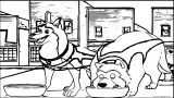 Kirby And Kodi Kirby From Balto Wolf Coloring Page