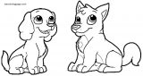 Lani And Acey Coloring Page