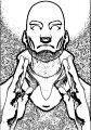 Midlife Crisis Aang Avatar Aang Coloring Page