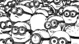 Minions 2015 Wallpaper 2880×1620 Coloring Page