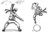 Naruto Meets Aang Dingostride Dgoa Avatar Aang Coloring Page