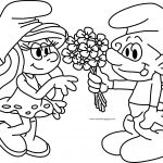 New Smurfs Movie Coloring Pages Design