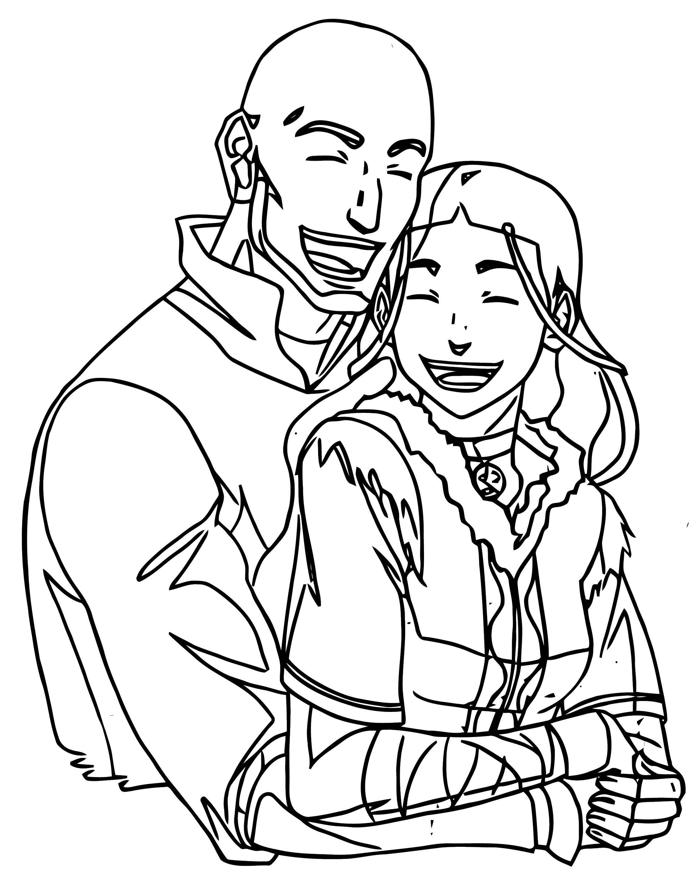 avatar aang coloring pages - photo#30