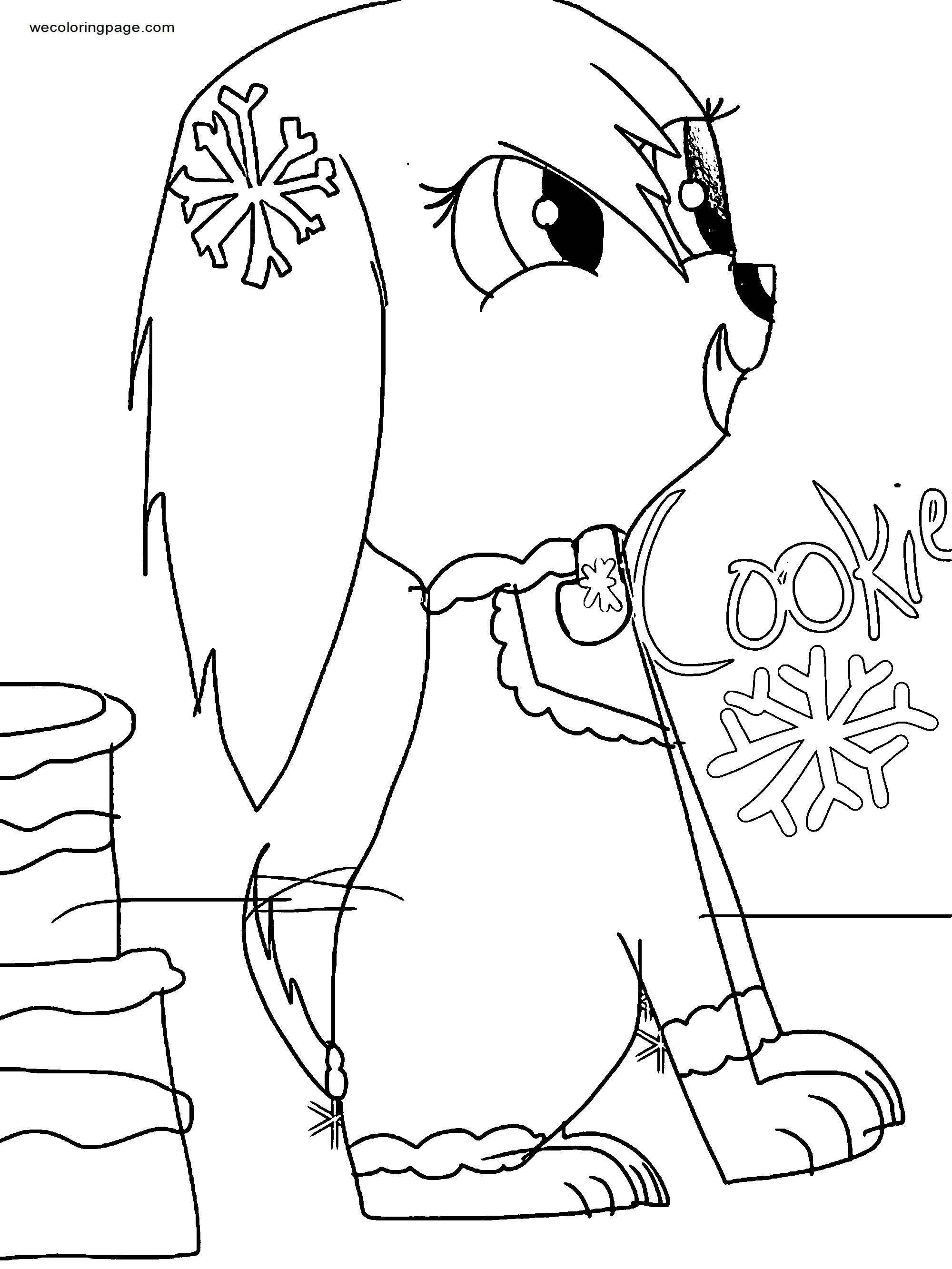 Paw Patrol And Kind Of South Park Oc Cookie Clarice The Tomboy Coloring Page