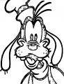 Peter Max Goofy Disney Coloring Page
