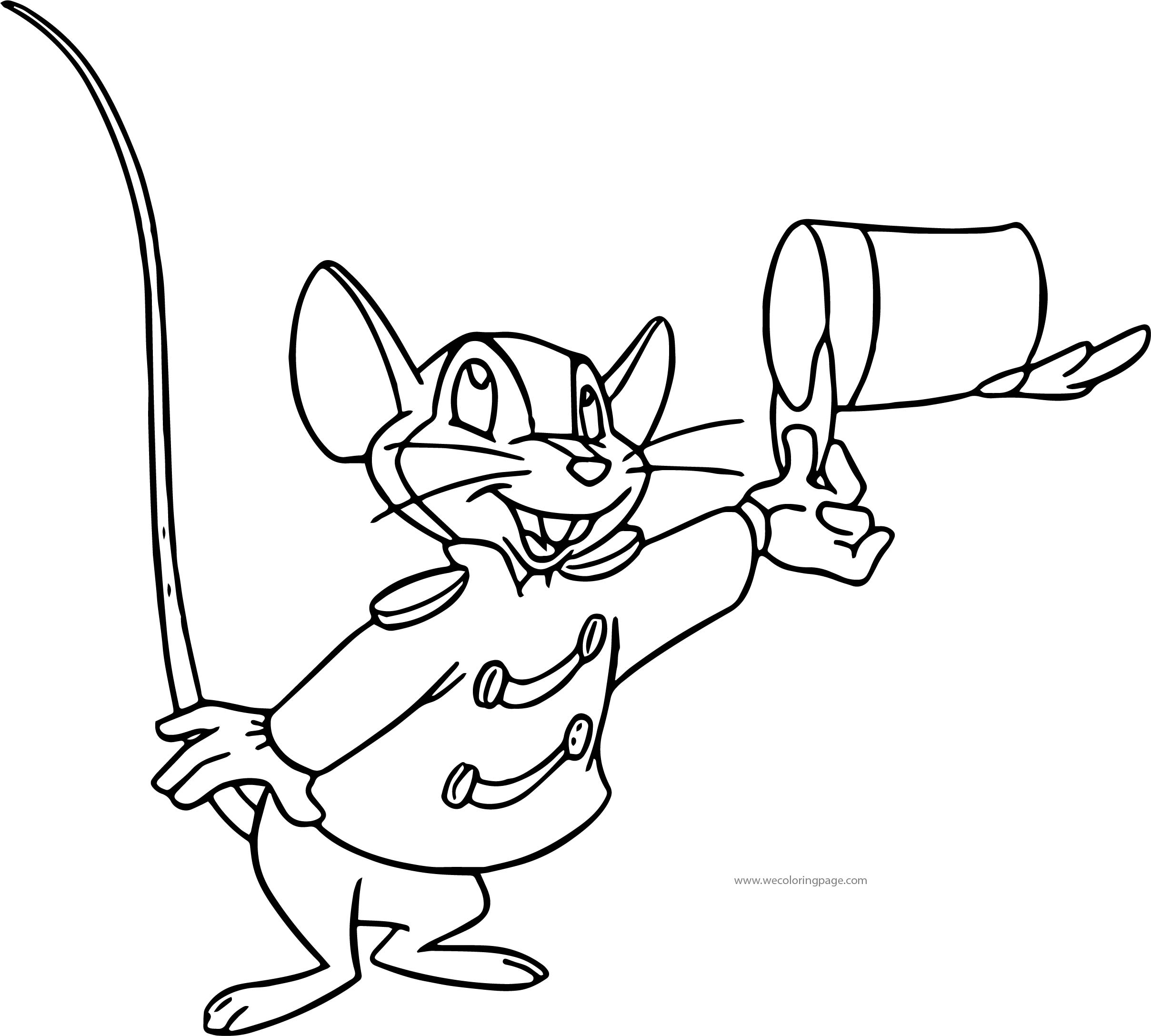 Timothy Happy Hi Coloring Page