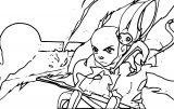 Tumbl Avatar Aang Coloring Page
