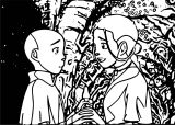 Tumblr MalrhUOrwqqqo Avatar Aang Coloring Page